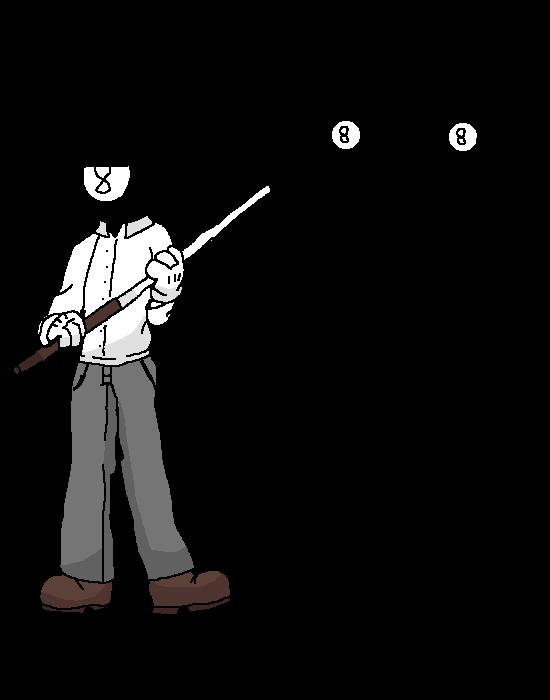 an 8-ball oc