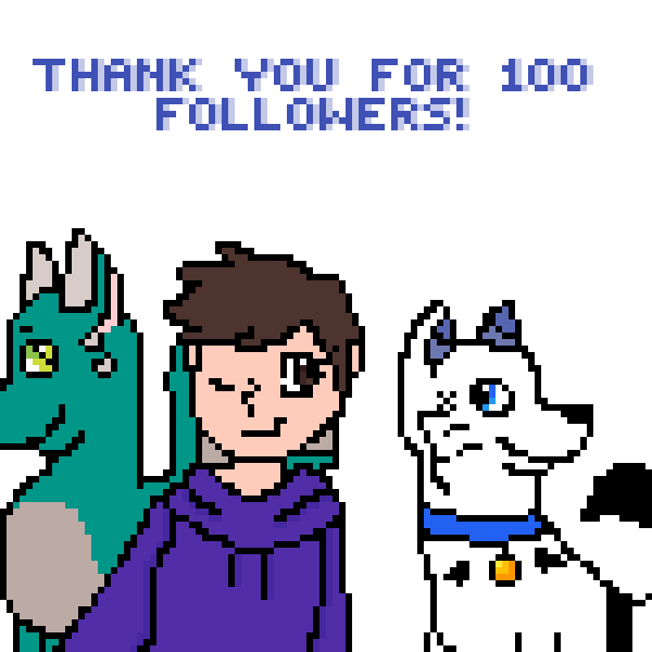 Thank You for 100 followers!