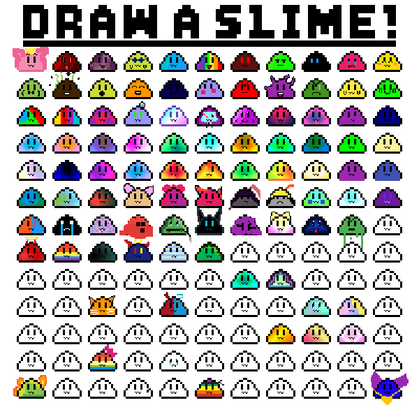 Draw a slime