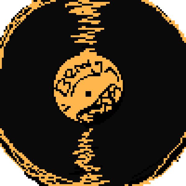 Bendy music disc.