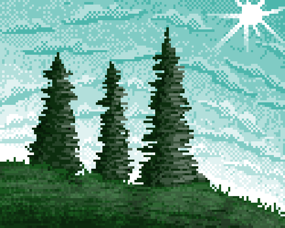 Hills and Pines
