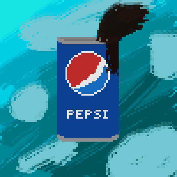 Pepsi Soda Can