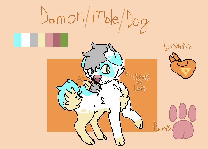 Damon 2.0 ref sheet!