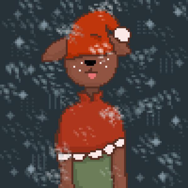 Inay as a deer