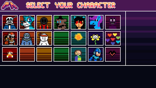 Select Your Character!