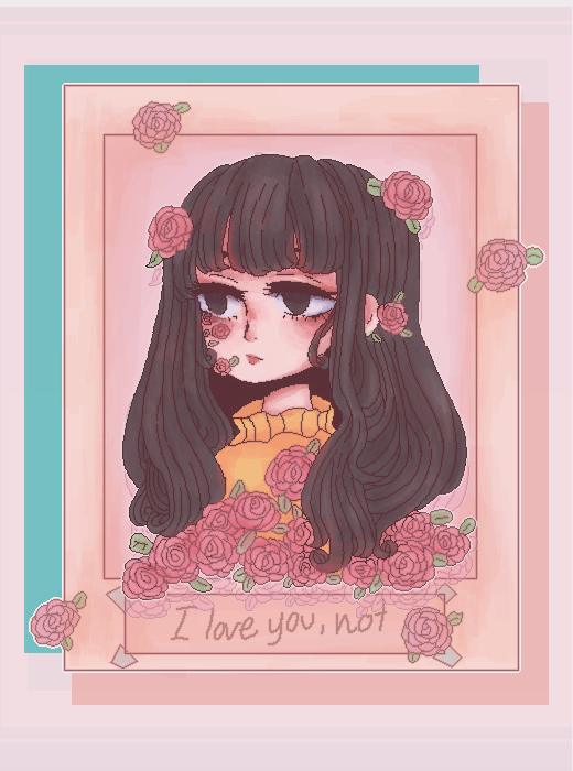 """I love you, not."""