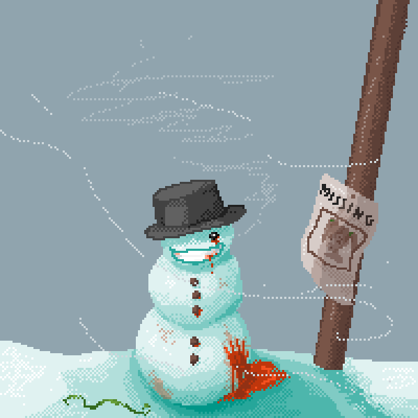 just your friendly neighborhood snowman :)