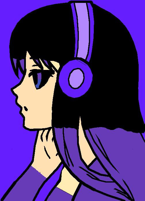 she likes purple