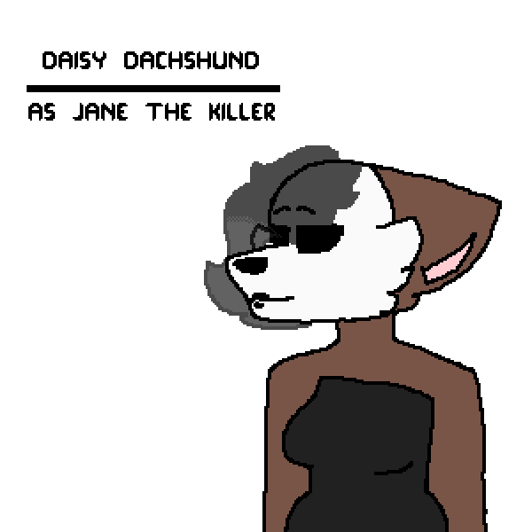 Daisy as Jane the Killer