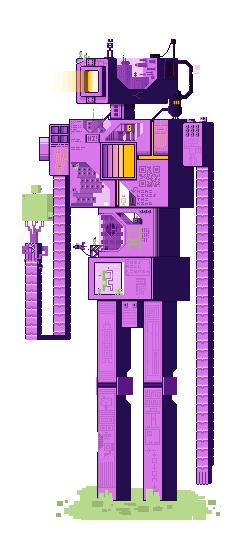 The Purple Titan