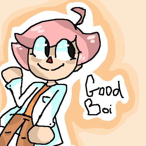 My acnl character GoodBoi