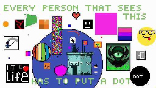 add a dot
