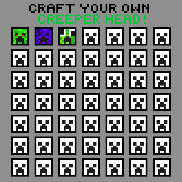 make your own creeper
