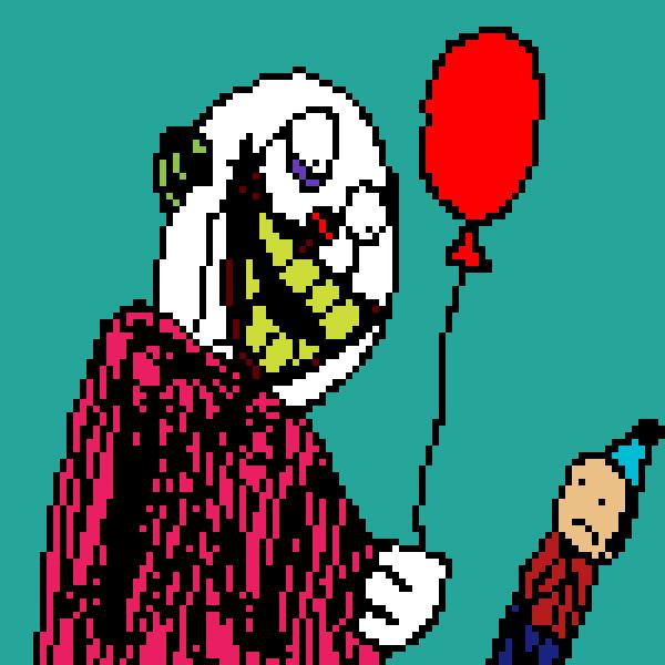 Scribble Fun:I Love Drawing Clowns! :D