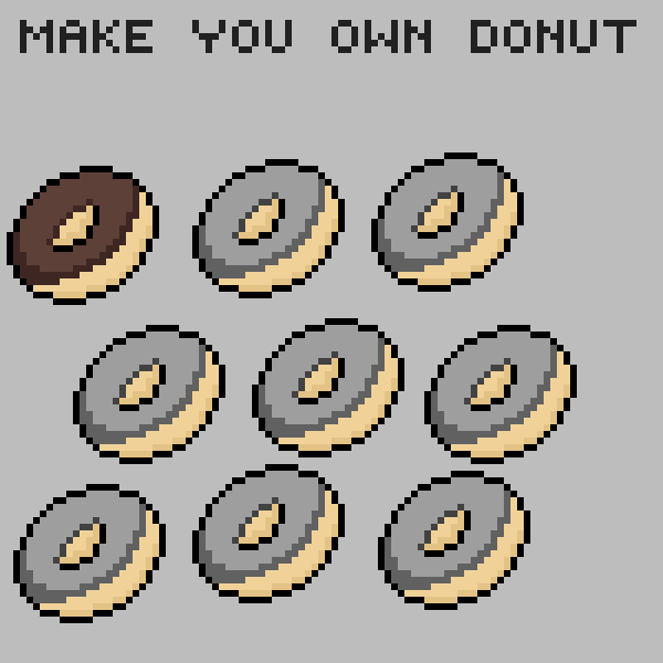 hey donut make you own donut