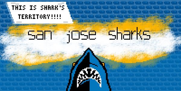 San Jose Sharks Fan Art