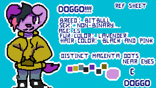 Doggo Ref Sheet!!! ♥