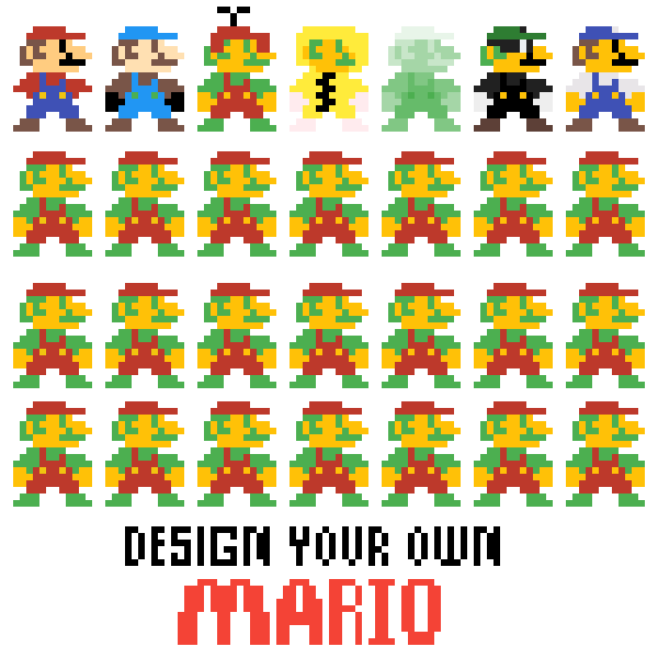 Make your own mario