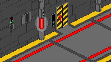 A Random Hallway On Juliano's Spaceship