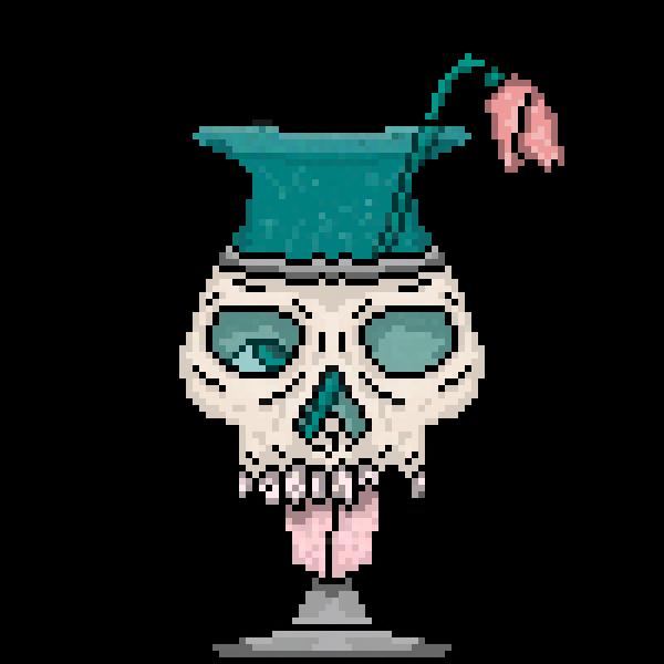 No bones about it, it's a vase.