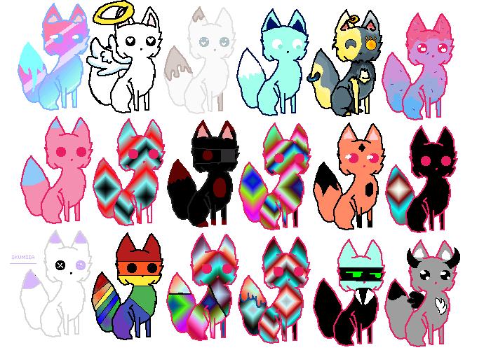 cute foxes :D