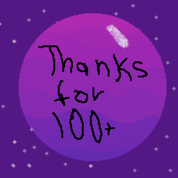 thanks for 100+