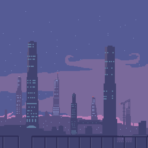 Night time in some sorta city