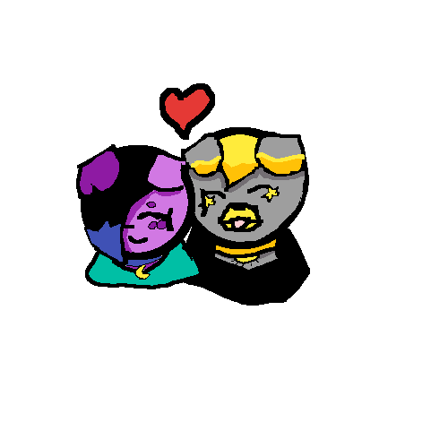 Doggo and starlight ship art