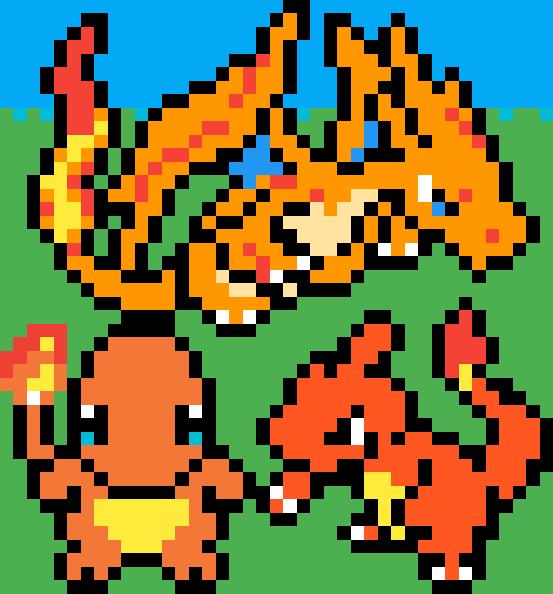 Pixilart - Mega Pokemon Sprites by Moneyruler101