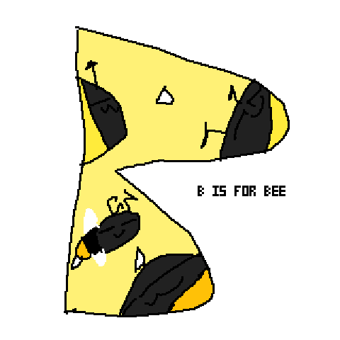B is for bee uwu