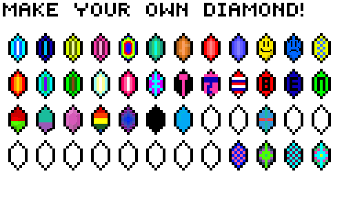 MAKE A DIAMOND!
